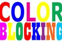 《COLOR BLOCKING》 / Style