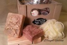 Soaps / All sorts of our soaps!!  No artificial colorants or additives