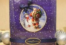 """The Night Before Chrstmas / Capture the magic this Christmas with Hunkydory's classic The Night Before Christmas Luxury Card Collection. This fabulous kit is based upon the nostalgic poem """"Twas the Night Before Christmas"""" written in 1822 by Clement Clarke Moore, and is complimented by specially commissioned artwork from Italian Painter Marcello Corti."""