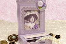 Antique Collections / Evoke memories of times gone by with our wonderful Antique themed collections. With beautiful Victorian inspired imagery including elegant ladies, butterflies, flowers and vintage transport, all draped onto delicate fabric and lace backgrounds, these kits are perfect for timeless, classic cards.