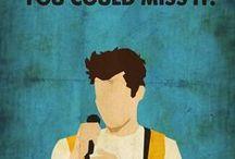 Poster / Clássicos e referências a filmes e séries que mais amo!