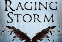 Raging Storm: Spiritual Discord, Book Two / Get ready for all of hell to break loose.   Raging Storm, the second book in the Spiritual Discord series.