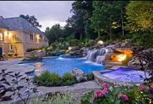 Hot Tub Design / Relaxing Outside and Enjoying Life!