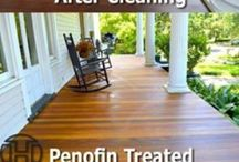 Deck-Orating / Cleaning and Maintaining Your Deck For Spring!
