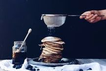Pancakes / Whether it's Pancake day or just a lazy Sunday morning, we can't get enough!