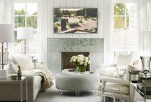 Hamptons Decor Inspiration / Calming, chic interior inspiration