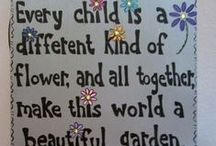 Kids garden / Benefits of kids growing gardens and getting there hands dirty.
