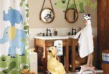 Ideas para el cuarto de baño de los niños