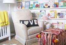 Rincones de lectura para niños / Ideas para crear un rincón de lectura en una habitación infantil.