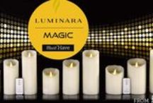 Luminara @ delyss / Led candles -Realistic flame candle with remote control and timer