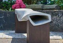 Betonmöbel und Lautsprecher / Aussergewöhnliches aus Beton für Innen und Aussen. Jedes dieser Teile wird einzel von Hand gefertigt und überrascht mit aussergwöhnlichen Formen und starker Funktionalität.