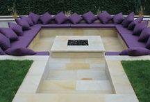 Contemporary Patio & Landscaping Ideas / A mixture of contemporary garden, patio and landscaping ideas.