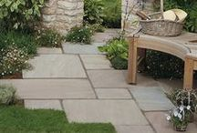 Weathered-Style Flagstones / Cragstone is a weathered range of flagstones. Each stone is full of inspired antique charm.