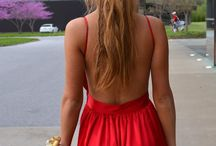 Formal (Red) / Red Formal Look