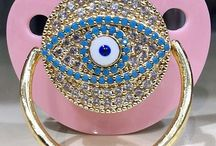 Bling Pacifiers / Custom Handmade Swarovski Crystal Bling Pacifiers & baby products