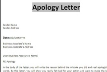 Sample Apology Letters / Free Sample Letters Of Apology For Personal And  Professional Situations. Also