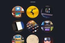 Freelancer Portfolios / Portfolios of creative designers, illustrator, photographers and so on.