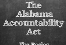 Alabama Accountability Act / What you need to know about the Alabama Accountability Act.