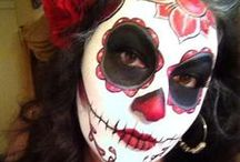 Sugar Skulls Obsession / Yes the person in the main cover is me!!  / by Alicia Hernandez (Nina Ali)