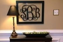 Home Ideas - DIY Decor / Do It Yourself Home Decor Ideas / by Heather