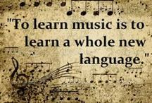 Quotes, Sayings & Music