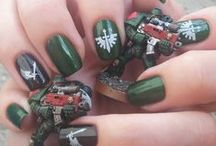 whManicures / Here I will show my Warhammer manicures.