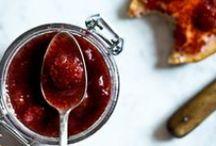 Marmelády, med, zavařování, nakládání