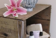 Upcycled furniture and decor / Some great inspiration for and examples of creative and unique upcycled items!