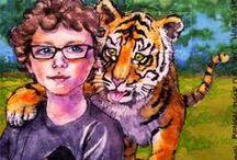 Deti - painting / Children / Children- painting