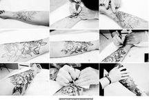 Prace TIME4TATTOO / Prace wykonane w Instytucie Tatuażu TIME4TATTOO
