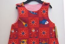 Lasten retromekot - children's retro dress