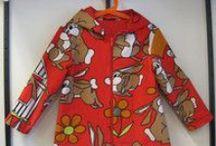 Lasten retrotakit - Children's retro jackets / Kierrätyskankaiset lasten retrotakit - Recycled children's retro jackets