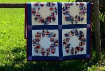 Handcrafts projects at Il Rigo / Quilts, blankets, scraps projects for our farm in Tuscany