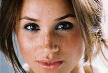 """Freckles are beautiful / """"A face without freckles is like a sky without stars."""""""