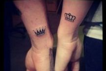 Tattoos / All tattoos have a story behind it. Even the smallest tattoo can have the most fearful and exiting journey.