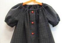 Mekkoja kierrätys paidoista - Dresses old recycled shirts / Mekkoja Iskän, Ukin, Veljen, Kummin, Kaiman, ym. Vanhoista kauluspaidoista - Dresses Old recycled shirt