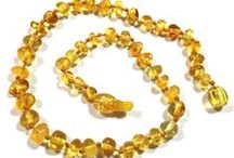 Children's Baltic Amber Teething Jewelry / Our World-Famous Baltic Amber Jewelry Colors!