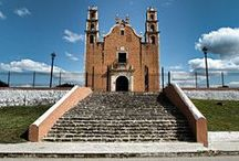 Churches - Yucatan, Mexico