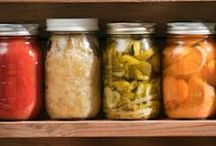 fermented and canned foods