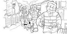 For your little firefighter fan / Activities for kids who love fire fighters! Coloring pages, books, apparel, craft ideas, videos, articles, all promoting messages of safety to parents and kids.