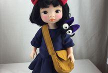 Disney animator doll repainted design clothes / Yoona kang myself repaint & redesign doll