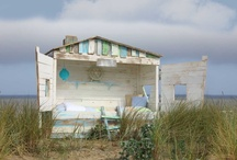 kinderkamers / karakteristiek bed in de vorm van een vissershuis