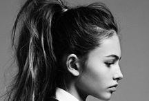 The Ponytail / We love a good pony; up high for a sporty look, mid for a fun, fashion look and a low pony for a sophisticated 'do.