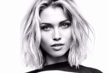 The Cool Girl Crop / We love a cheeky, swinging bob. Mid-length hair cuts look sophisticated and classy.