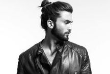 The Man Bun / The Man Bun gives men with long hair a new option, instead of having to look like a grungy rocker (which we don't mind), this is a tidy option that can be more masculine than a ponytail.