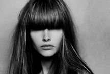 The Glorious Bangs / We love bangs! They can look sultry, classic, confident, fiesty, relaxed, beachy, dressy, whatever you want really! A fringe is always completely tailor made to suit you, your hair, your style and your lifestyle.