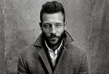 The Dapper Man / We all love a well groomed, fresh cut on a man. We are enjoying the resurgence of the 50s male attention to their hair maintenance.