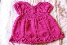 detské pletené a háčkované oblečenie