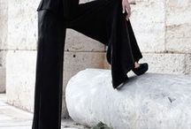 Barbara Tani Trousers S/S 2015 / Trousers are ones of Barbra Tani creations that more than other represent the sense of femininity and elegance in her language.