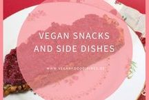 Vegan Snacks and Side Dishes / Snacks, Aufstriche, Dips vegan, gesund, schnell